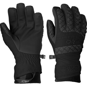 Outdoor Research Riot Guanti Donna, black